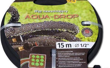 """Zavlažovací zahradní hadice AQUA-DROP 1/2"""" 7,5m"""