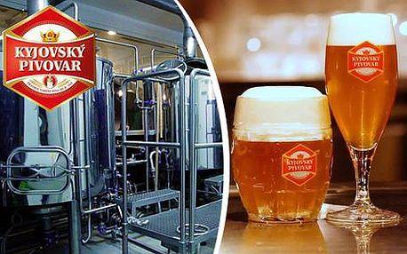 Prohlídka Kyjovského pivovaru s výkladem i ochutnávkou
