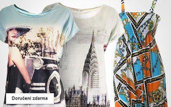Dámské letní šaty a tuniky – výprodej, sleva až 55 %