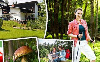 Pobyt pro dvě osoby s polopenzí ve Sporthotelu Olympia na Šumavě v ráji cykloturistiky a houbařů!!