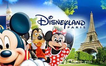 DISNEYLAND a PAŘÍŽ! 3 nebo 4denní zájezd pro 1 os. s POBYTEM či na OTOČKU + služby průvodce! Září, říjen.