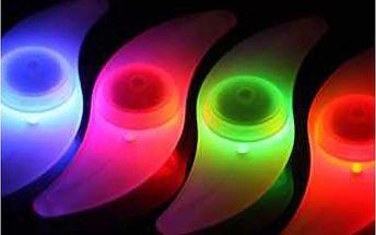 Odrazka na kolo s LED světlem