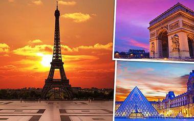 4denní zájezd do Paříže s návštěvou Versailles!
