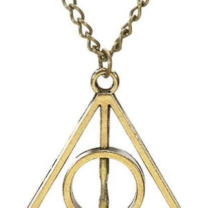 Náhrdelník s přívěskem ve tvaru trojúhelníku - tři barvy