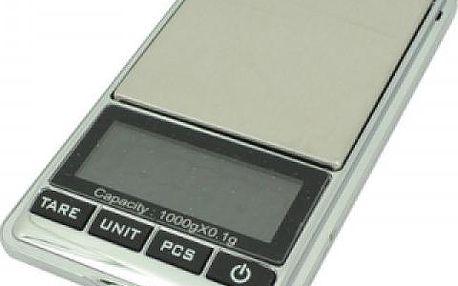 Digitální kapesní váha, 0,01 - 1000 g
