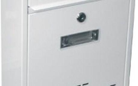 Poštovní schránka RADIM malá 260x310x90mm, bílá