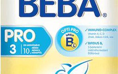 Kojenecké mléko NESTLÉ Beba 3 PRO 600g