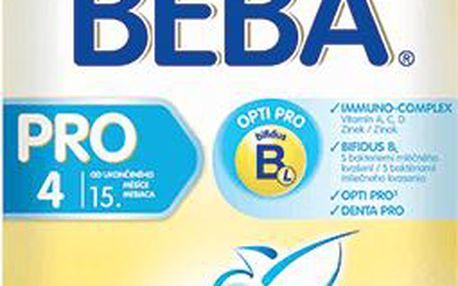 NESTLÉ Beba 4 PRO (600 g) - kojenecké mléko