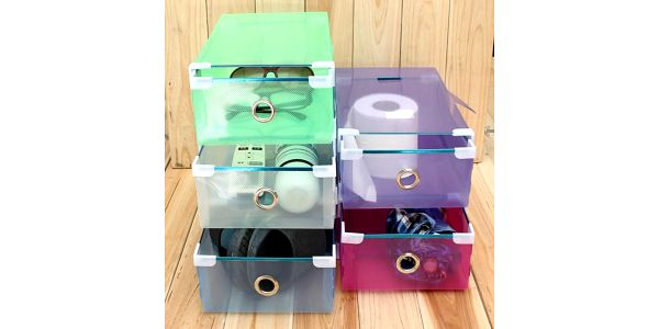 Úložné boxy - různé barvy