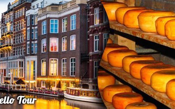 Za sýry, dřeváky a grachty do Holandska