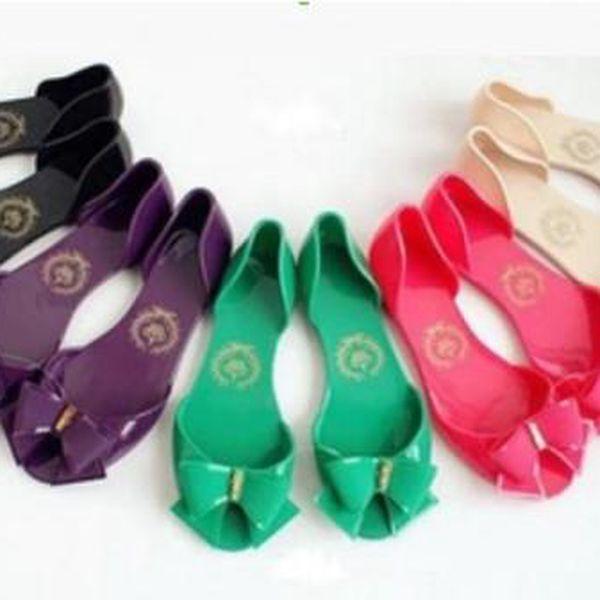 Dámské letní sandálky s mašlí!