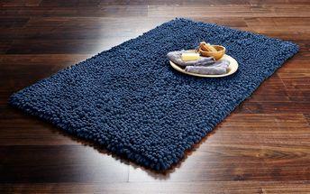 Tchibo, Předložka do koupelny z žinylkového mikrovlákna, modrá
