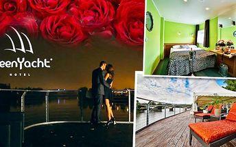 Největší romantika pro dva v Green Yacht hotel****
