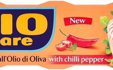 Rio Mare Rio Mare Tuňák v olivovém oleji s chilli papričkou 3 x 80g
