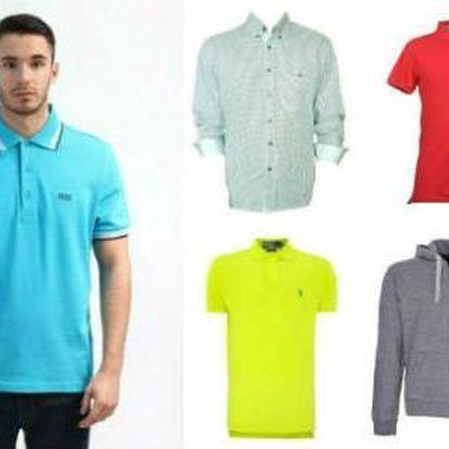 Pánské značkové košile, trička či mikiny za jedinečné ceny!