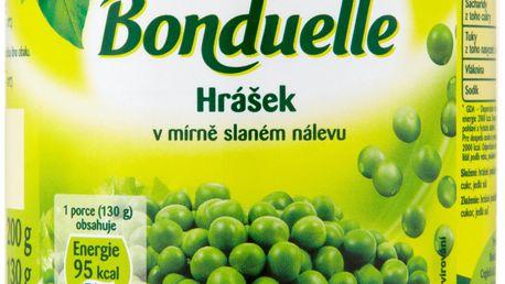 Bonduelle Bonduelle Hrášek v mírně slaném nálevu 200g