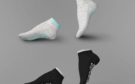 Tchibo, Ponožky na jógu, 2 páry 35-38