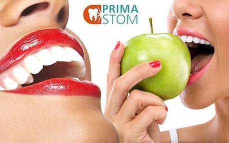 Ambulantní dentální hygiena včetně pískování a leštění zubů