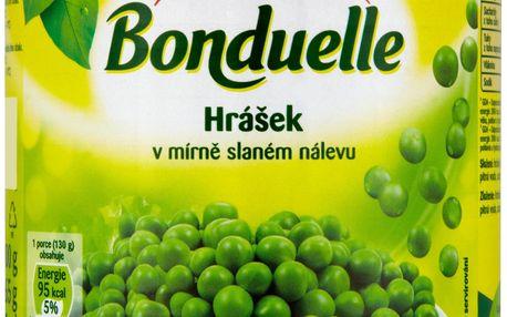 Bonduelle Bonduelle Hrášek v mírně slaném nálevu 400g