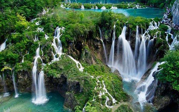 3denní zájezd k Plitvickým jezerům do Chorvatska