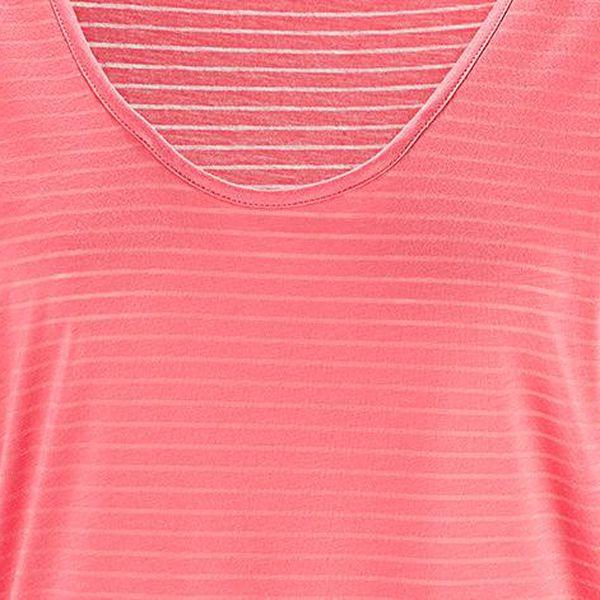 Tchibo, Pohodlné triko, korálové S (36/38)