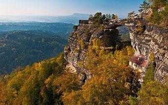 Podzim v Českém Švýcarsku se saunou i polopenzí