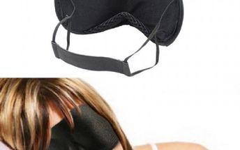 Škraboška na spaní černá