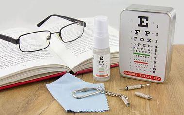 Sada na údržbu brýlí!
