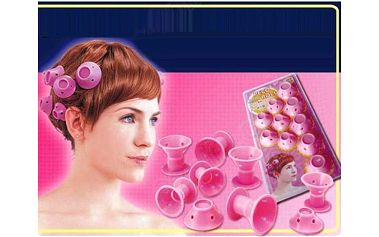 Silikonové natáčky na krátké vlasy