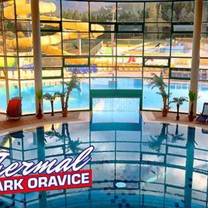 Celodenní vstup do Aqua Thermal Parku v Oravicích