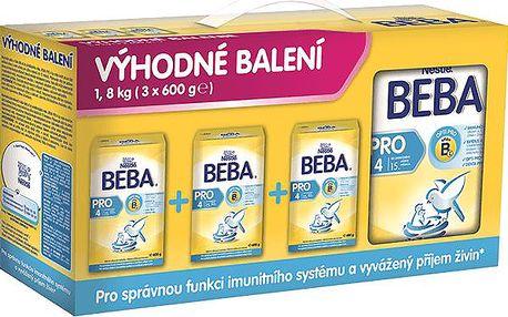 BEBA PRO 4 3x600g na Feedo.cz