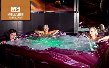 Privátní relaxace s vířivkou a saunou pro 4 osoby nebo romantika ve dvou