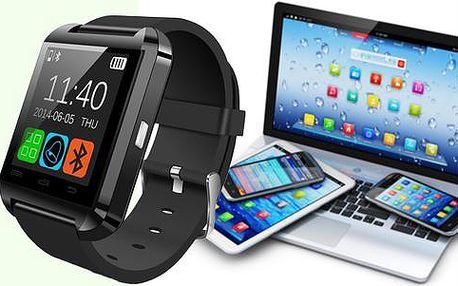 Luxusní hodinky Smartwatch s telefonem a dalšími moderními technologiemi