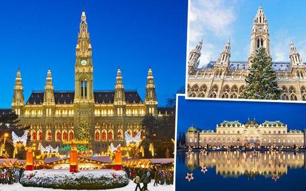 Adventní zájezd do Vídně s dopravou a průvodcem