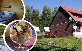 Relaxační pobyt na 3 nebo 6 dní pro dva. Bohaté snídaně, tříchodové večeře, navíc zmrzlinový pohár!