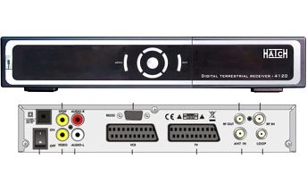 Set top box Hätch DVB 4120