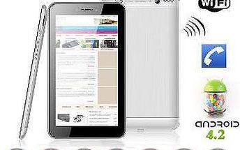 Tablet 3v1: GPS navigace a smartphone za 2110 Kč