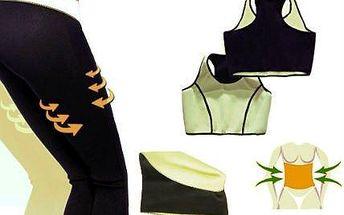 Legíny, břišní pás a top pro sport i hubnutí na gauči!