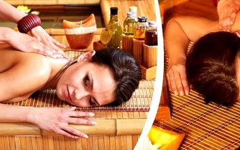 60 min. relaxační celotělová masáž s důrazem na krční páteř