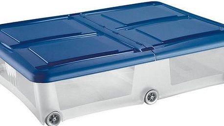 BOX ÚLOŽNÝ S VÍKEM 80X60X18,5CM 61L PLAST ASSORT