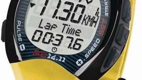 Sigma Sport RC 14.11 C3 žlutý + Doprava zdarma
