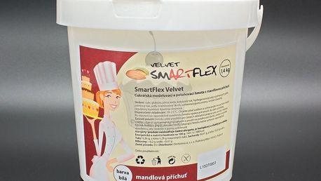 Smartflex velvet mandle 1,4kg - potahovací hmota