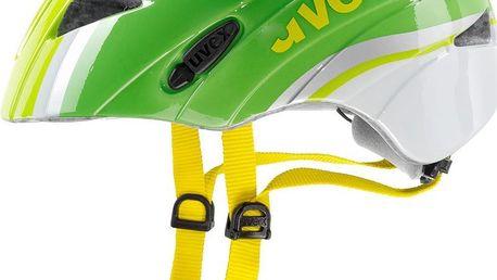 UVEX Kid 1 green-white 2015 dětská cyklistická přilba
