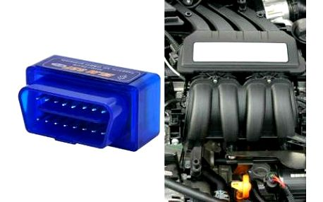 Bluetooth diagnostika motoru pro analýzu stavu vozidla