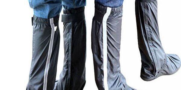 Sportovní nepromokavé návleky na boty - na výběr ze tří velikostí