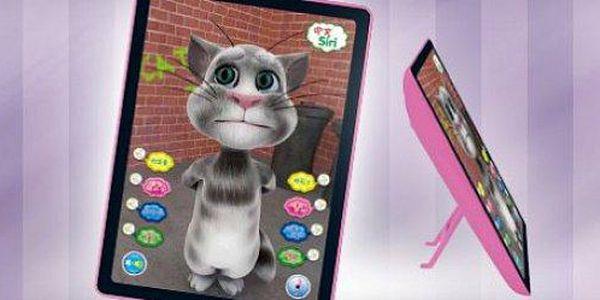 Tom Cat: hravý 3D dětský tablet pro výuku angličtiny zaujme a naučí.