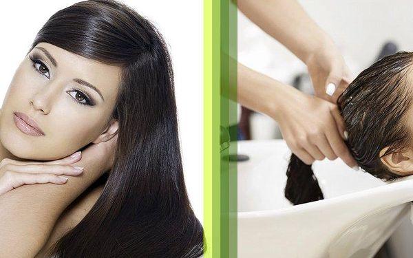 Intenzivní regenerace poškozených vlasů brazilským keratinem ve studiu Step!