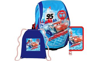 SUNCE ABB Set Disney Cars modrý
