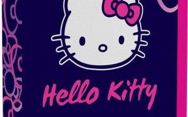 Karton P+P Penál 1patrový s chlopní Hello Kitty