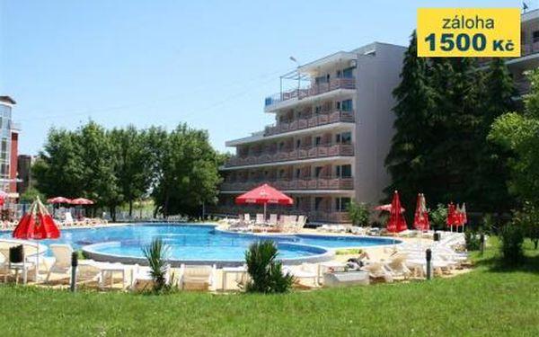 Bulharsko, oblast Primorsko, doprava letecky, snídaně, ubytování v 3,5* hotelu na 8 dní